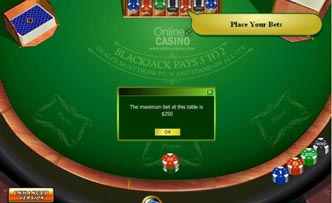 Les actions à mener au blackjack